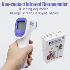 Non-contact Infrared Forehead Thermometer Digital Temperature ...
