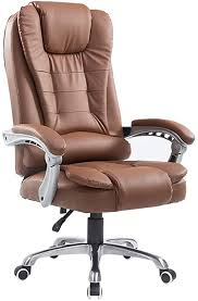 QFFL Office Chair Executive Office Chair, Artificial ... - Amazon.com