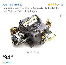 What's it like to order a <b>carburetor</b> from Amazon? I found out