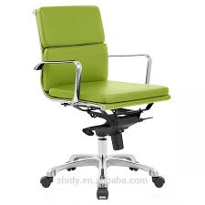perfect green leather office chair qqd15 awesome green office chair