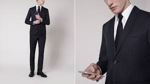 what to wear to an interview dress code the journal issue jil sander navy slim fit cotton suit