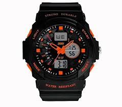 LanLan Fashion Multi Function <b>Waterproof Digital LCD</b> Alarm Date ...