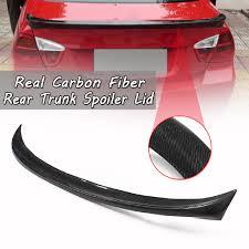 <b>Real</b> Carbon Fiber Trunk Spoiler For 06-11 BMW <b>E90</b> 3 Series ...