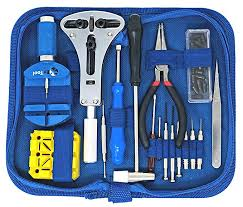 EZTool Watch Repair Kit with 16 Tools and 41-Page ... - Amazon.com