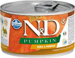Влажный корм <b>Farmina N&D</b> Dog Pumpkin Quail & Pumpkin Mini ...