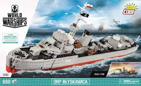 Польский эсминец <b>ORP</b> Blyskawica. <b>COBI</b>-3080.