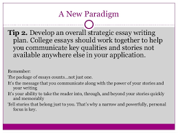 Hamilton College NIght  How To Write Powerful Personal Statements SlideShare Essays   Opportunity