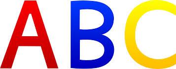 alphabetical order clipart clipartfest abc letters