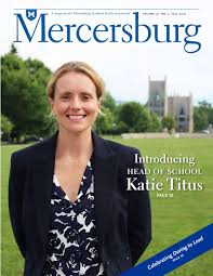 Mercersburg Magazine - Fall 2016 by Mercersburg Academy - issuu