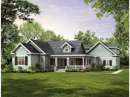 One Story Home Plans at Dream Home Source   One Story Homes and    Among popular single level styles  ranch house plans are an American classic  and practically defined the one story home as a sought after design