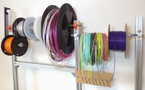 The 3D Printing Filament Spool Standard: Light-weight, stackable ...