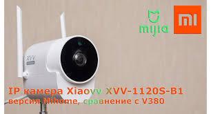 <b>IP</b>-<b>камера Xiaomi</b> Xiaovv XVV-1120S-B1: версия <b>Mihome</b>, сравнение