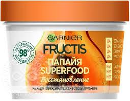 Купить <b>Маска для волос</b> Garnier Fructis SuperFood 3в1 Папайя ...