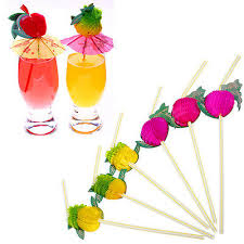 <b>New</b> 100Pcs Hawaiian Theme 3D <b>Fruit</b> Summer Party Colorful ...