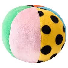 <b>КЛАППА Мягкая</b> игрушка,мяч, разноцветный - <b>IKEA</b>