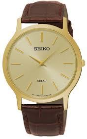 <b>Часы</b> наручные <b>мужские Seiko</b>, <b>SUP870P1</b>, коричневый