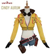 UWOWO Cindy Aurum <b>Final Fantasy Cosplay</b> FF15 FFXV Costume ...