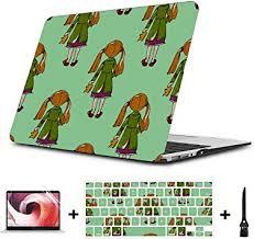 MacBook Air Case A1466 Cartoon Little <b>Girls Pretty</b> Fashion Plastic ...
