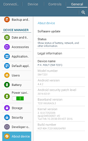 This app is not compatible with the <b>Samsung Galaxy Tab</b> 4 SM-T230 ...