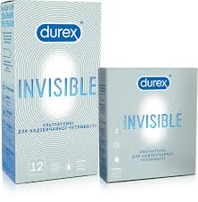 ROZETKA | <b>Презервативы Durex Invisible 12 шт</b> (5052197049619 ...