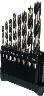 <b>Набор сверл по дереву</b> (8 шт; 3-10 мм) Metabo 626705000 - цена ...