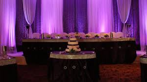 8 ways to make your quinceanera head table stand out add lighting e280 beautiful color table uplighting