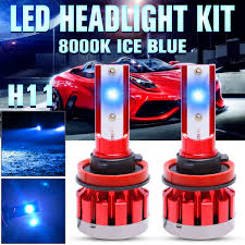 <b>2x</b> H11 H9 H8 <b>Mini 110W 22000LM</b> LED Headlight Bulb Lamp Low ...