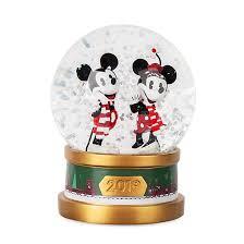 <b>Disney</b> Store <b>Mickey and Minnie</b> Holiday Cheer <b>Snow</b> Globe ...