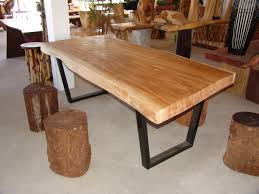 Unfinished Wood Dining Room Chairs Stylish Ideas Unfinished Wood Dining Table Dining Table Wood Slab
