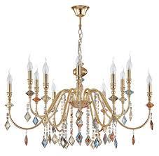 <b>Люстра Crystal Lux MERCEDES</b> SP6+6 GOLD/COLOR купить в ...