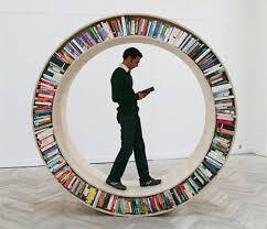 Rak Buku Unik