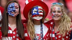 Image result for usa soccer fans