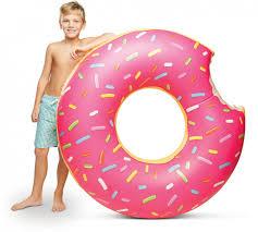 <b>Круг надувной BigMouth Strawberry</b> Donut BM1516 купить в ...