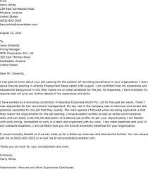 cover letter for recruiter best sample resume cover letter to recruiter sample sample hr recruiter cover letter