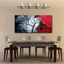 3pcs oil painting cuadros decoracion set natural scenery canvas print decoration for home living room bedroom best office art