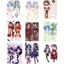 <b>Date</b> A Live Yatogami Tooka & Tokisaki Kurumi <b>Anime dakimakura</b> ...