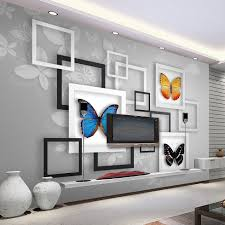 online get cheap rolled paper art com alibaba group custom mural 3d stereoscopic geometric abstract butterfly living room art wall painting wall papers home