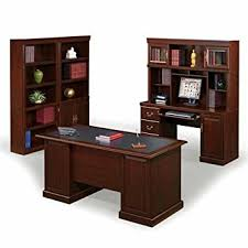 sauder office furniture heritage hill collection office suite classic cherry cherry office furniture
