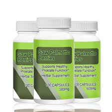 <b>Saw Palmetto</b> Berries 500mg 100pcs X 3 Bottles <b>Total</b> 300PCS ...