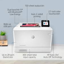 <b>HP LaserJet Pro</b> M454dw Wireless <b>Color Laser</b> Printer (W1Y45A) at ...