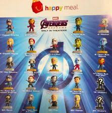 <b>Marvel Toys</b> McDonald's Fast Food Premiums for sale | eBay