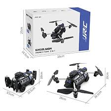 <b>JJRC</b> H40WH 2-in-1 Flying <b>Tank</b> RC Drone Foldable Altitude Hold ...