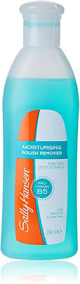 <b>Sally Hansen Moisturising</b> Polish Remover, with Acetone to soak-off ...