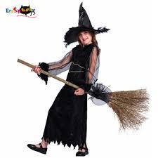 Eraspooky Black Darkness <b>Witch Cosplay</b> Girls <b>Halloween costume</b> ...