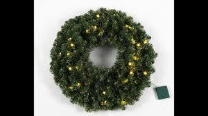 <b>Royal Christmas</b>- <b>LED Battery</b> Wreath - YouTube