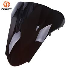 POSSBAY <b>Bike</b> Universal <b>Motorcycle Windshield</b> Wind Deflectors for ...
