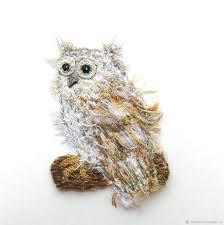 Brooch in the style of <b>boho bird</b> Owl – заказать на Ярмарке ...