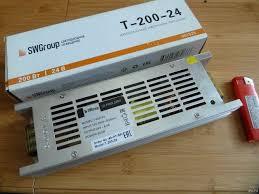 <b>Блок питания SWGroup</b> T-200-24 200Вт 24В 8.4А для ...