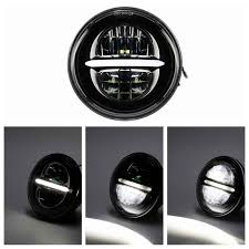 "<b>Motorcycle 5 3/4 5.75</b>"" Round Projector LED Headlamp Headlight ..."