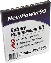 Garmin Nuvi 755 Battery Replacement Kit with ... - Amazon.com